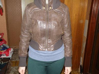 Кожаная куртка р икс ес 36-38