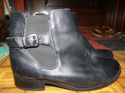 ботинки сапоги 37 р кожа