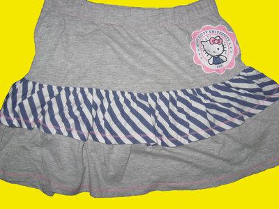 Хб юбка с Китти на 9-10 лет,Hello Kitty