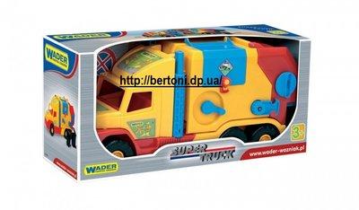 WADER Мусоровоз Super Truck арт. 36580