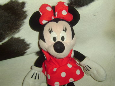 шикарная мягкая игрушка девчушка минни маус Minnie Mouse Disney оригинал 37 см