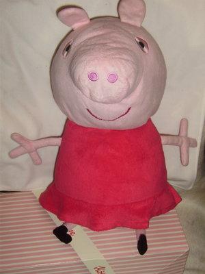 огромная говорящая свинка Пеппа Peppa Pig Англия оригинал 55 см