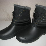Непромокаемые зимние ботинки Эва высокие 42-45 р.р утепленные и легкие.