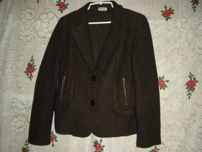 Супер пиджак freda р.48,100%pur laine -320грн.
