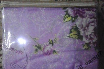 Постельный комплект двуспальный бязь Сирень
