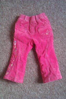 вельветовые джинсы на флисе OshKosh 3т