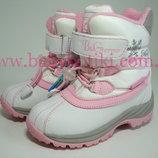 Термо ботинки B&G Termo р. 32 сапоги