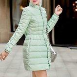 куртка женская Зимняя пуховик парка теплая термо пальто