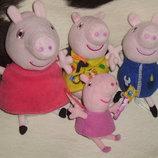говорящие мягкие игрушки свинка Пеппа Peppa Pig Англия оригинал