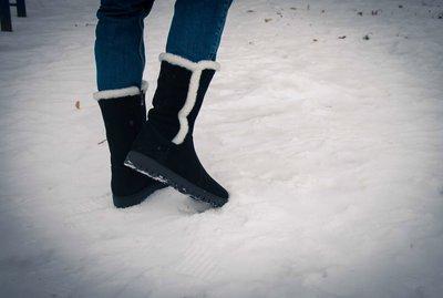 Замшевые сапоги.Новинка осень-зима 2016-2017гг.Фото на ножке.