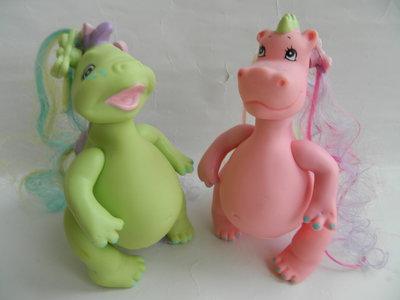 динозаврики Дино и Дина от zapf creation