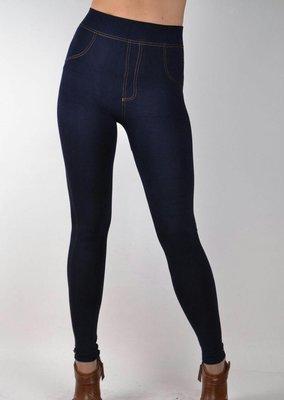 Женские лосины под джинс утепленные