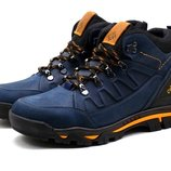 Ботинки зимние Columbia Nubuck Blue