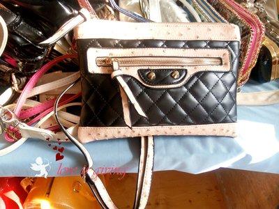 стеганый клатч в стиле Chanel