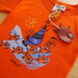 новая детская футболка для мальчика