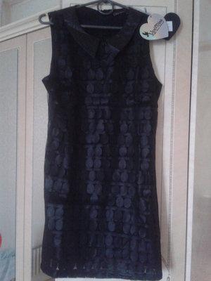 Платье ажурное из экокожи Yes Miss Италия