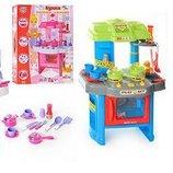 Игровой набор кухня 008-26. 2 вида, свет, звук, духовка