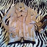 Очень классная удлиненная куртка- накидка