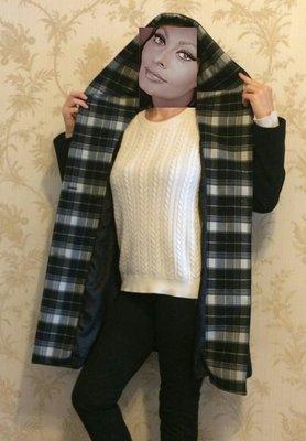 Кашемировое пальто отличного качества