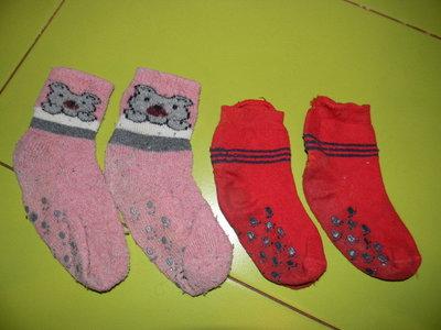 носки тёплые домашние на 2-4 года б/у