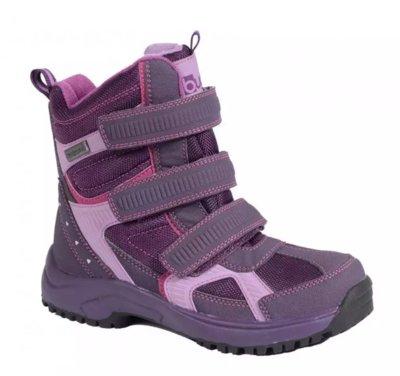 Непромокаемые детские зимние ботинки Bugga Waterproof для девочки р 28-37
