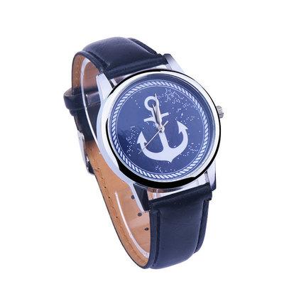 Стильные часы с якорем аналог ZIZ
