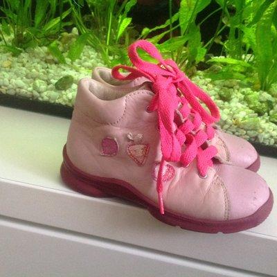 Кожанные ботиночки 16,5 см