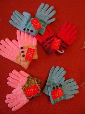 Перчатки Пуговки, в наличии 2 размера