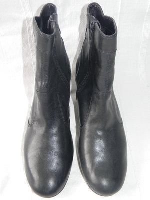 Женские кожаные полусапожки Clarks р.6 дл.ст 25,5см