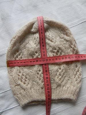Женская ажурная шапочка