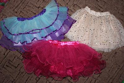 Красивая юбка 2-5лет.