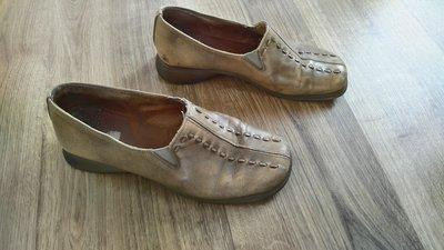 Стильные туфли, кожаные