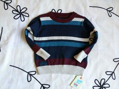 Крутой новый свитерок в полоску от Rebel на 9-12 мес., 80 см