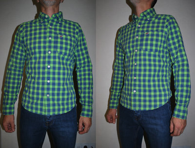 Рубашка размер Хс Hollister оригинал