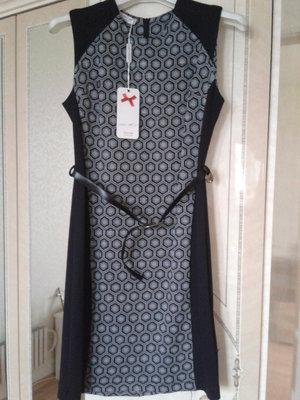 Платье трикотажное узкое liza kott италия