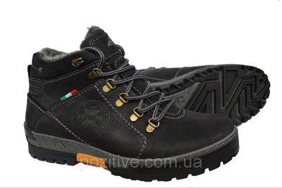 Мужские кожаные зимние ботинки модель 30