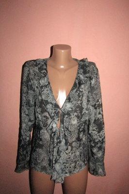 легкая блуза р-р евро 40 miss Etam