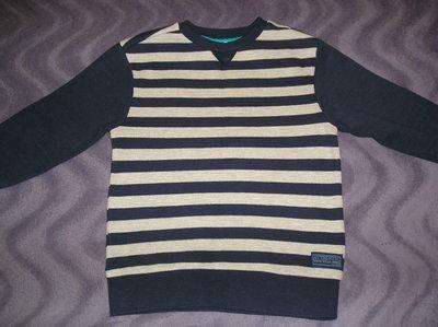качественный коттоновый свитерок для мальчика F&F 6 -7лет 110-122 см