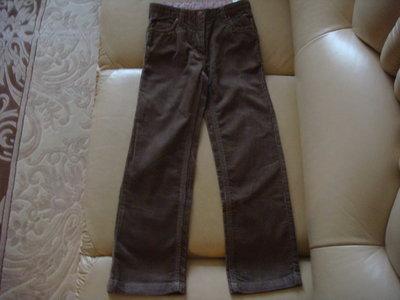 новые вельветовые брючки джинсы LUPILU 4-6 лет