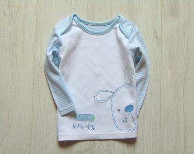Стильный реглан для новорожденного. M&S. Размер 3-6 месяцев. Состояние новой вещи