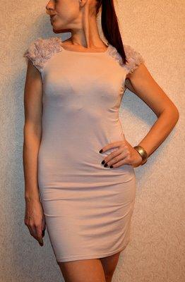 Оригинальное трикотажное платье от New Look
