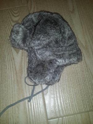 Зимняя меховая теплая фирменная шапка ушанка Reima идеальная