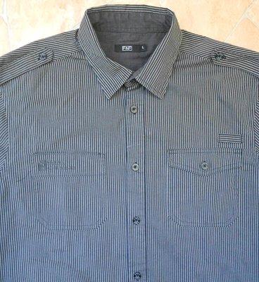Мужская рубашка F&F размер L 52-54