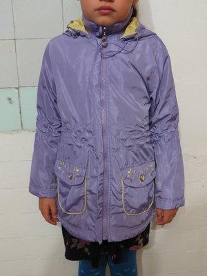 Модный демисезонный плащ куртка на 7-8 лет 128 рост