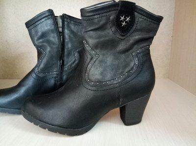 Ботинки деми кожа Vice Versa 40р - 26 см, новые сток