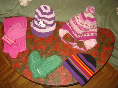 Шапки шарфы руовички