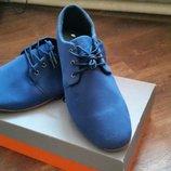 Туфли замшевые 30см