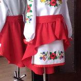 украинские костюмы,платья на прокат
