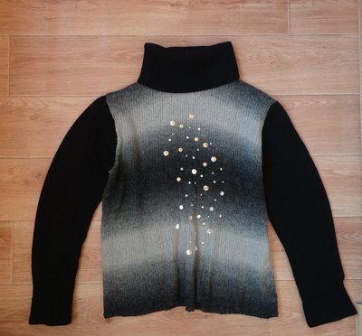 Теплый женский свитерок под горло 52-54 размера . Турция