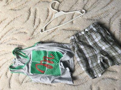 Моднявые Шортики H&M 2-4 годика в идеале